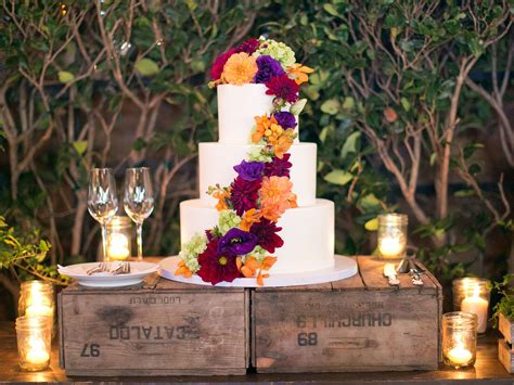 Fall Wedding by Fall Weddings Fall Inspired Cakes Real Weddings Fall