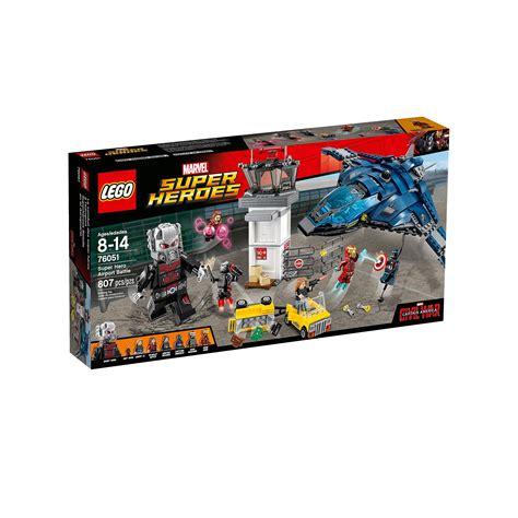 Lego Marvel Heroes 76051 Airport Battle lego 76051 marvel heroes airport battle at hobby warehouse