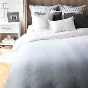 ombre bedding ombre duvet and sham set
