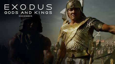 film exodus gods and kings exodus gods and kings quot strength quot clip hd 20th