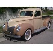 1940 Ford V8 Pick Up  Bring A Trailer