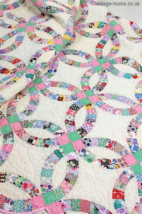 Wedding Ring Patchwork Quilt by 17 Best Images About And So To Bed On