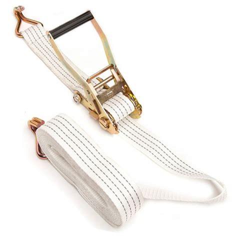 Tali Webbing Rachet 5t 10m 2inch 50mm 4t 5t ratchet tie with white webbing sling