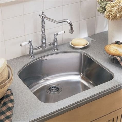 American Standard Culinaire Sink american standard culinaire 7501000 single bowl undermount stainless steel kitch contemporary