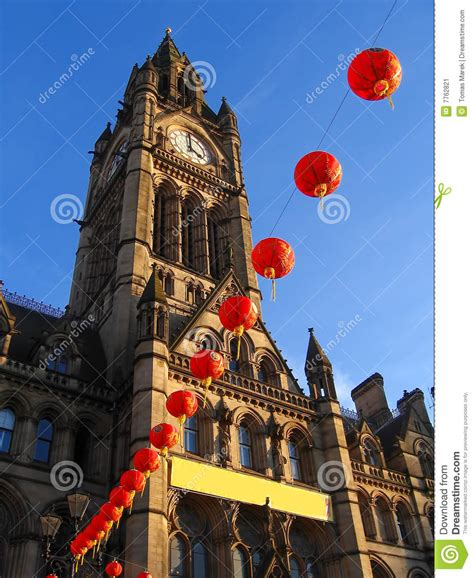 new year in manchester uk new year in manchester stock image