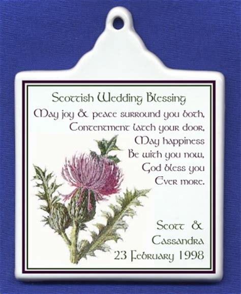 Wedding Blessing Scottish by Image Gallery Scottish Blessing