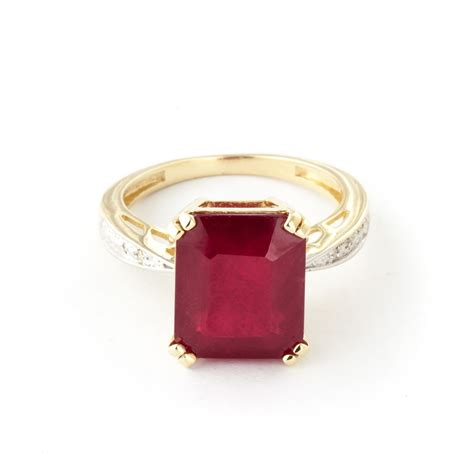 ruby 14 7 ct 14k gold 7 25ct ruby ring gj5119y gifted jewelry