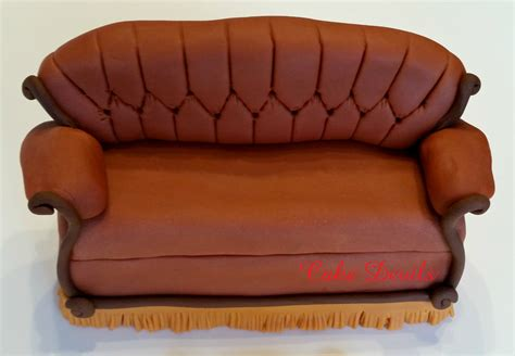 couch from friends friends couch cake topper kit fondant handmade by cakedevils