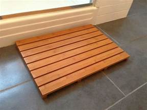 Wooden Floor Mats For Bathroom Wooden Bath Mats Are Wood Shower Mats By American Floor Mats