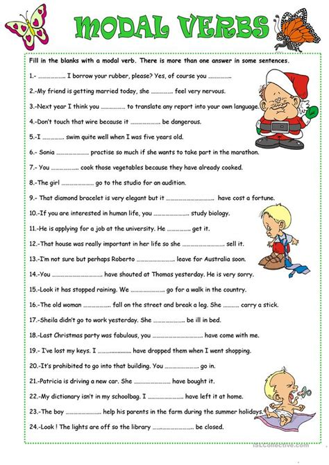 Why Should Verbs Be Used In Writing A Resume by Modal Verbs Worksheet Free Worksheets Library