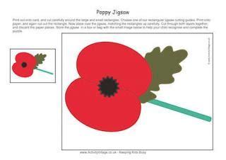 printable poppy bookmark remembrance day printables