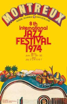 montreux jazz festival switzerland 1974 by bruno gaeng vintage music