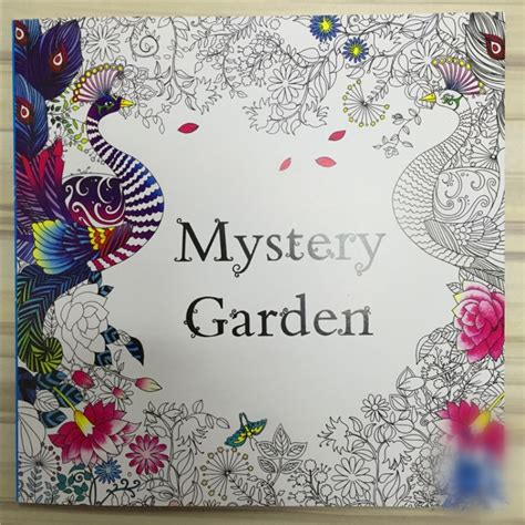 Mystery Garden Coloring Book aliexpress buy mystery garden coloring book for