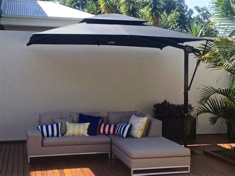 Large Rectangular Patio Umbrellas ? All Home Design Ideas : The Best Rectangular Patio Umbrella