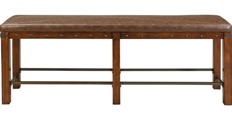 red hook pecan counter height red hook pecan counter height bench contemporary