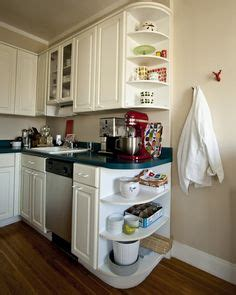 kitchen cabinet end shelf grandma s kitchen on pinterest galley kitchens kitchen