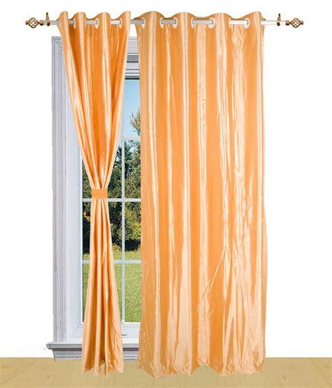 peach window curtains shandar peach plain polyester window curtain buy shandar