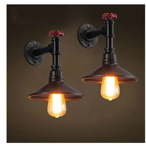 black pipe light fixture wall ls water pipes and retro on pinterest