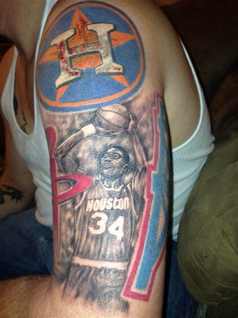 houston oilers tattoo h town tat tattoos tatting and