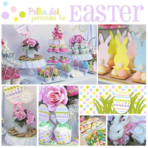 easter themed events just pleased as punch easter ideas and a great party