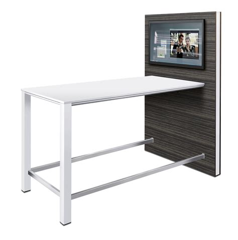 picture of a desk temptation high desk offiscapecommercial furniture