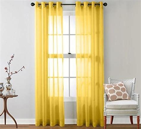 yellow sheer curtain best 25 yellow curtains ideas on pinterest yellow