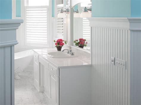 wood bathroom ideas beadboard bathroom walls small