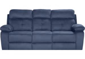 Picture of corinne blue reclining sofa from sofas furniture