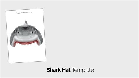 shark hat craft template shark hat craft template iranport pw