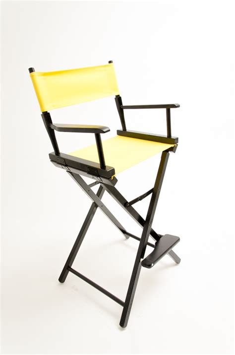 yellow directors chair gold medal directors chair commercial black 30 quot yellow