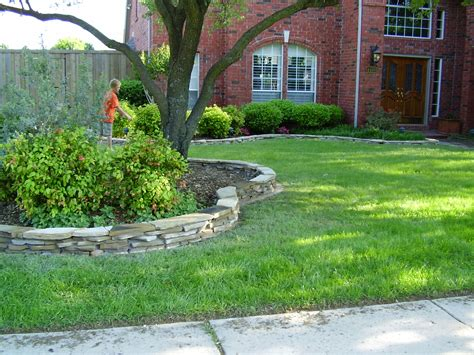 Rock Borders For Gardens Flagstone Border Landscape Borders Flagstone And Landscaping