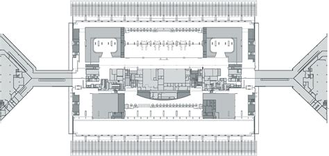 airport terminal floor plans gallery of regeneration of taoyuan international airport