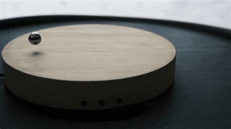 flyte clock floating clock by flyte visualizes time with levitating sphere