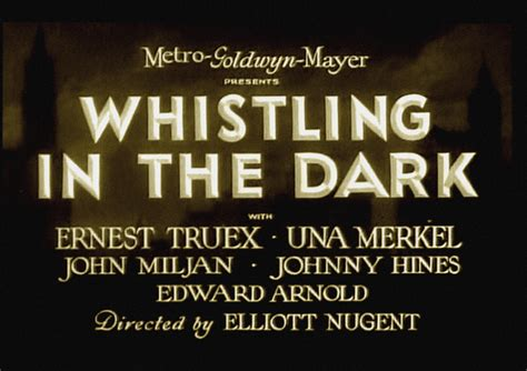 whistling in the dark the man on the flying trapeze pre code vs post code quot whistling in the dark quot