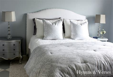 hymns and verses diy upholstered headboard tutorial