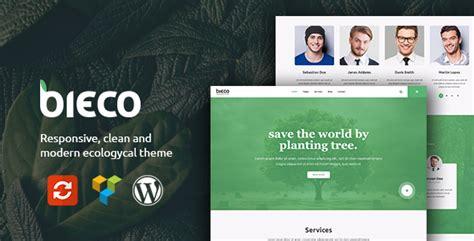 free wordpress themes zip format bieco environment ecology wordpress theme download zip