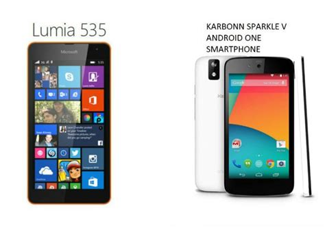 microsoft lumia 535 vs android one which is the better budget smartphone