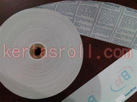 Thermal Paper Roll 80x50 Register Struk Kasir 1 kertas kasir jual kertas kasir thermal kasir register struk cashier receipt paper q matic