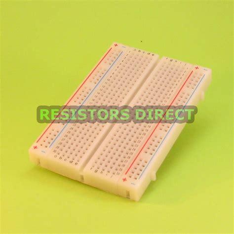 Cnc Breadboard Mini Solderless 400 400p 400 tie point solderless mini prototype breadboard contacts arduino raspberry pi ebay