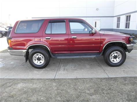 1990 Toyota 4runner For Sale Used 1990 Toyota 4runner For Sale Carsforsale