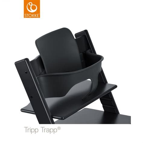 siege tripp trapp fauteuil b 233 b 233 tripp trapp baby set noir de stokke en vente