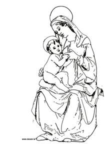 virgin mary coloring pictures free coloring pages art coloring pages