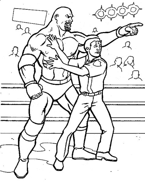 Wrestling Coloring Pages For Kids Coloringpagesabc Com Wrestler Coloring Pages