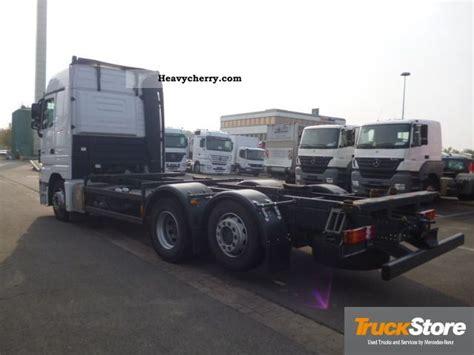 mega truck chassis mercedes benz actros 2544 mp3 ll bdf euro5 ahk air mega