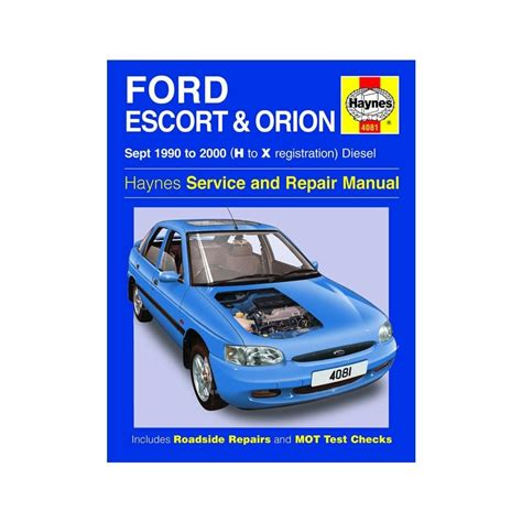 where to buy car manuals 1990 ford escort engine control haynes workshop manual for ford escort orion