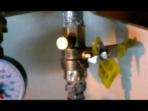 How To Pressure Test Plumbing With Air by Doing A Pressure Test 1 Air Removal Doovi