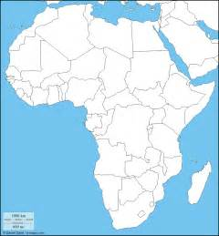 Africa Political Map Blank by Pics Photos Blank Africa Political Map