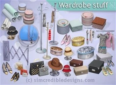 Things By Mode Deco by The Sims 4 Simcredibledesigns Wardrobe Stuff Buy Mode