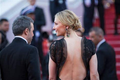 Robe Dos Nu Cate Blanchett - photos cannes 2018 cate blanchett et sa robe dos nu