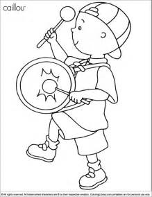 caillou coloring pages caillou coloring picture